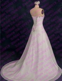 Robe De Mariage Cheap Wedding Dresses Beading Sweetheart Chiffon Wedding Gowns Beach Wedding Dress Shopping Sales Online W1102E