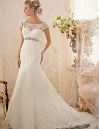 Real Sample Vestido De Noiva Sereia 2015 Mermaid Wedding Dresses Backless Beading Sash Shopping Sales Online Bride Dresses BQ-2