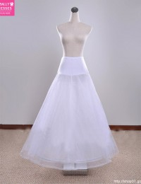 Good Price And Quality White Hoop A-line Wedding Dress Petticoat Underskirt HL-323